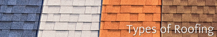 Types of Roofing Materials in MD, including Ellicott City, Columbia & Baltimore.