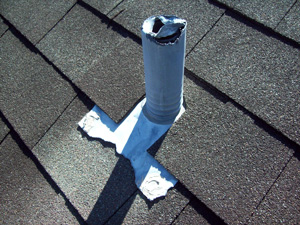 Damaged Roof Vent Repair in Greater Baltimore
